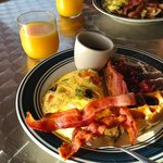 Breakfast cooked daily for you!