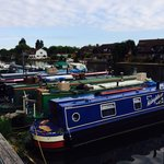 Boats by the Thame