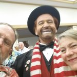 With Brian Hoffman as Red Skelton