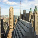 View from 50th floor Towers at New York Palace Hotel