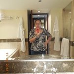 a bathroom of your dreams for one nite only beforing going back to reality