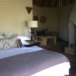 Madikwe Safari Lodge suite
