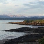 View towards Snowdonia