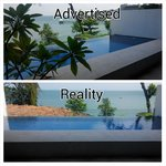 2 Views from our private pool(seaview villa)