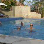 Swimming  with Frnds