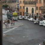 Piazza barberini from the room