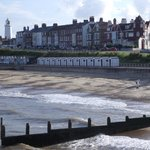 View of the B&B from Southwold Pier