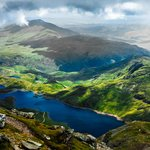 From the top of Snowdon