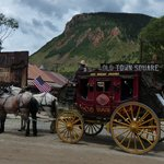 the stagecoach in Silverton