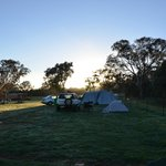 Sunrise from campsites