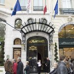 Paris Marriott Hotel Champs-Elysees resmi