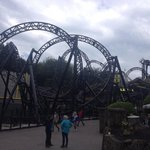 The smiler after I got off it I strongly recommend it