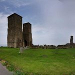Photo of Reculver Towers and Roman Fort