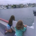 My girls on the Balboa Ferry.