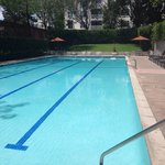 Hidden gem! The outdoor pool which is a 2 minute walk from hotel.