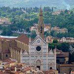 The church of San Croce from the Campanile