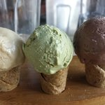Soy Icecreams - best one…Pistachio!