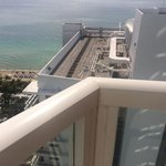 What an ocean view room in Tresor gets you, even on the 30th floor