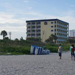 View of Best Western from Cocoa Beach