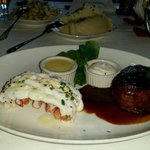 Awesome surf and turf.