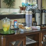 Coffee Buffet In Lobby