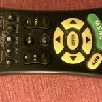 very dirty remote control... look in between the buttons