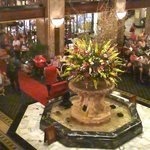Just part of Beautiful Lobby of the Peabody