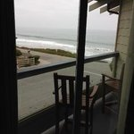 View from window in Point Sur room