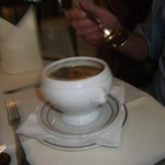 French onion soup starter