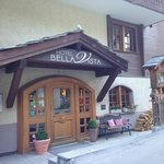 Entrance of Bella Vista Hotel