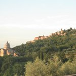 Montepluciano from the Villa Ortaglia front yard