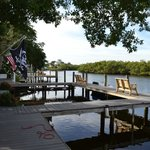 The dock awaits the charter fishing boats. Great way to catch your dinner.