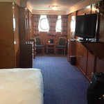 King Bed stateroom -- Fabulous!