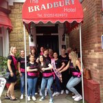 Tracey's hen party