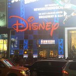 The biggest Disney store I have been in