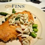 Parmesan crusted Drum w/ lump crab