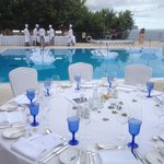 White Party table