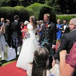wedding picture- walled garden