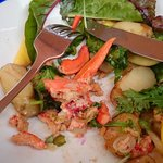 I gethered every bits of lobster in my salad, does it worth £25?