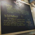 Chalkboard with specials