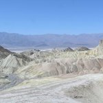 Zabriskie Point in late morning