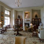 Resort lobby with elegant Southern charm