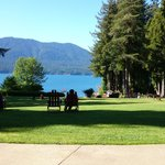 Foto van Lake Quinault Lodge