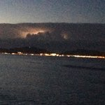 Evening storm over pollenca bay