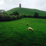 Glastonbury Tor Foto