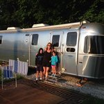 Fun staying in the Airstream