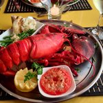 My lobster dinner.