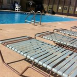 outdoor heated seasonal pool