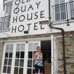 Foto de The Old Quay House Hotel