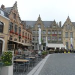 Poperinge square where hotel is